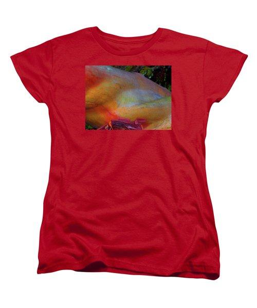 Women's T-Shirt (Standard Cut) featuring the digital art Wonder by Richard Laeton