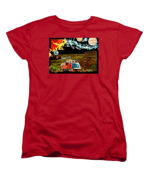The Gorge One Sweet World Women's T-Shirt (Standard Cut) by Joshua Morton