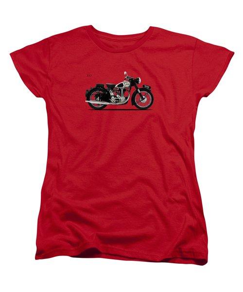 Norton Es2 1947 Women's T-Shirt (Standard Cut) by Mark Rogan
