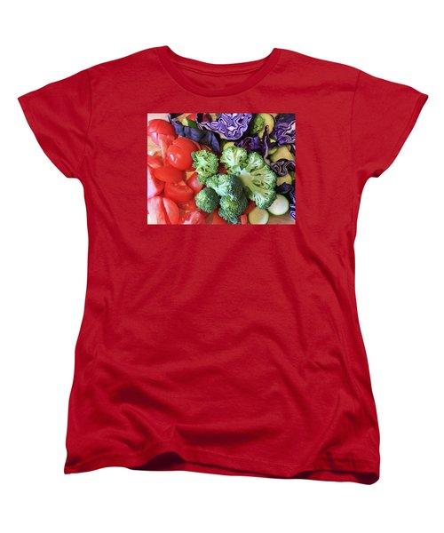 Raw Ingredients Women's T-Shirt (Standard Cut) by Tom Gowanlock