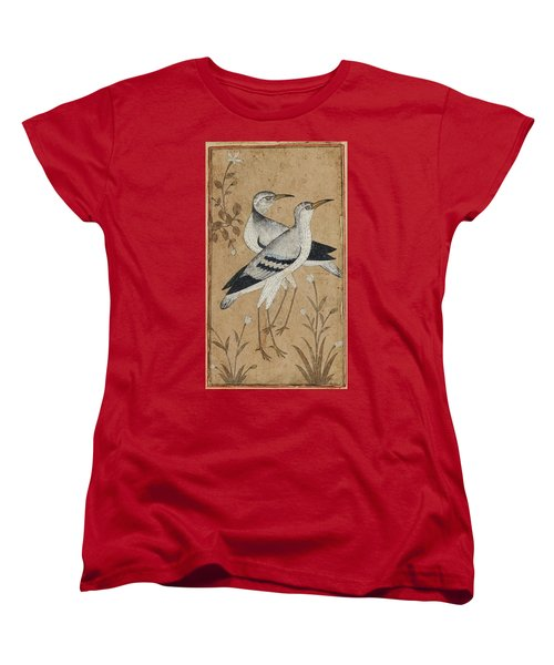 A Pair Of Lapwings Women's T-Shirt (Standard Cut) by MotionAge Designs