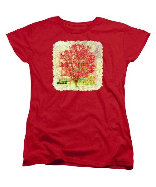 Autumn Musings 2 Women's T-Shirt (Standard Cut) by John M Bailey