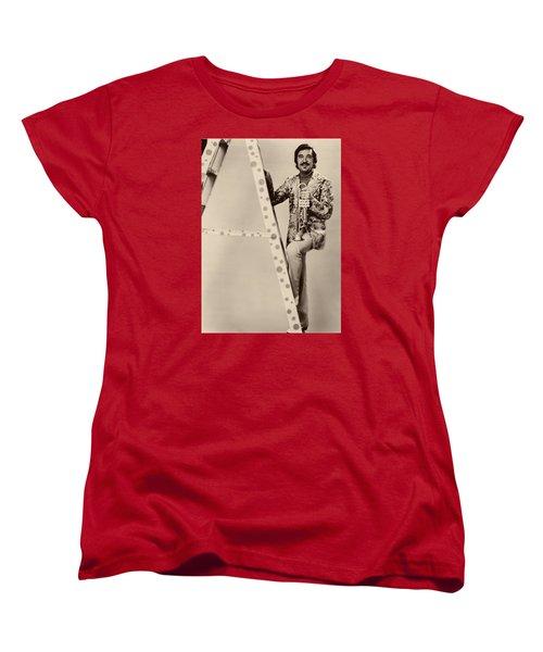 Band Leader Doc Serverinsen 1974 Women's T-Shirt (Standard Cut) by Mountain Dreams