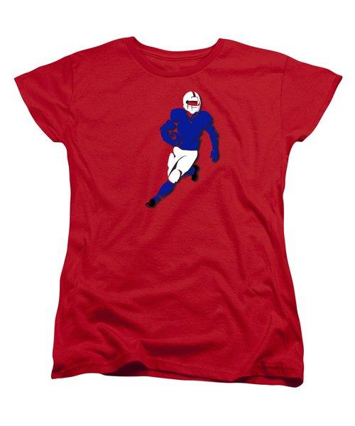 Bills Player Shirt Women's T-Shirt (Standard Cut) by Joe Hamilton
