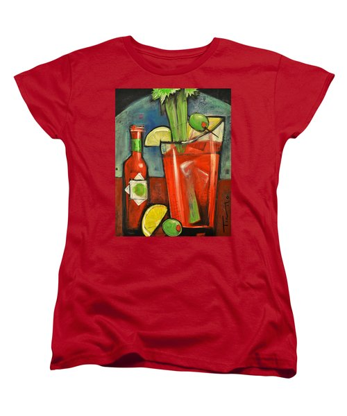Bloody Mary Women's T-Shirt (Standard Cut) by Tim Nyberg