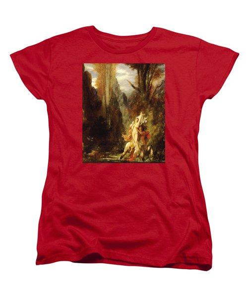 Dejanira  Autumn Women's T-Shirt (Standard Cut) by Gustave Moreau