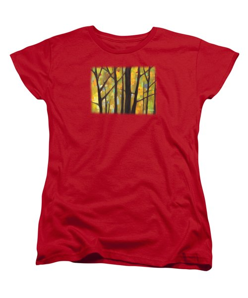 Dreaming Trees 1 Women's T-Shirt (Standard Cut) by Hailey E Herrera