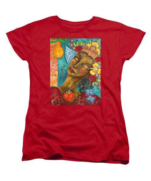 Finding Paradise Women's T-Shirt (Standard Cut) by Shiloh Sophia McCloud