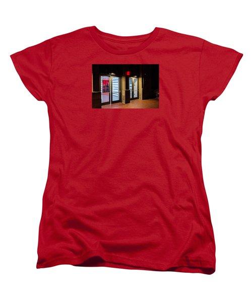 Women's T-Shirt (Standard Cut) featuring the photograph Guarding The Door by M G Whittingham