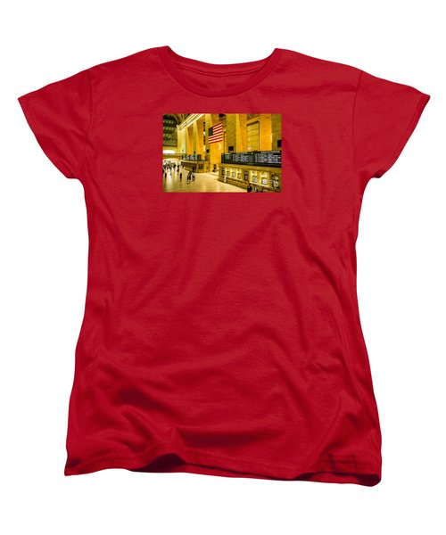 Women's T-Shirt (Standard Cut) featuring the photograph Grand Central Pride by M G Whittingham