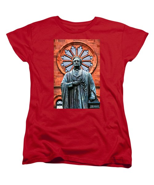 James Smithson Women's T-Shirt (Standard Cut) by Christopher Holmes