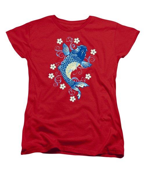 KOI Women's T-Shirt (Standard Cut) by Otis Porritt