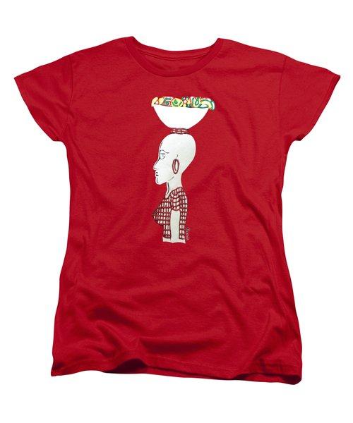 Market Woman1 Women's T-Shirt (Standard Cut) by Gerri McCritty