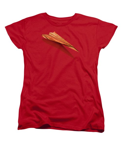 Paper Airplanes Of Wood 4 Women's T-Shirt (Standard Cut) by YoPedro