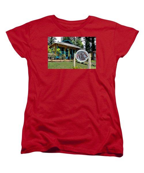 Pele's Lanai Style Women's T-Shirt (Standard Cut) by DJ Florek