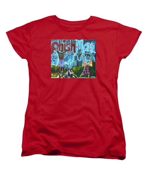 Phishmann Women's T-Shirt (Standard Cut) by Kevin J Cooper Artwork