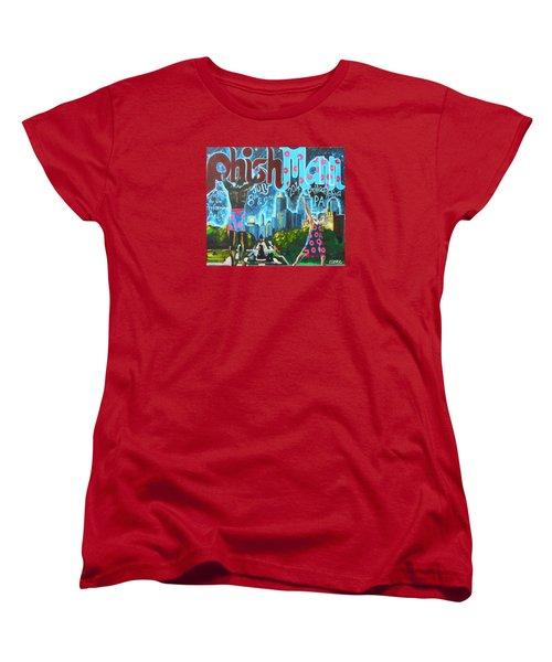 Phishmann Women's T-Shirt (Standard Cut) by Kevin J Cooper Artwork
