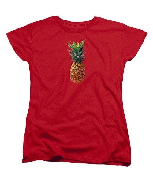 Pineapple Women's T-Shirt (Standard Cut) by T Shirts R Us -