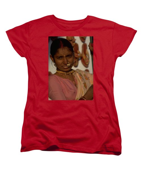 Women's T-Shirt (Standard Cut) featuring the photograph Rajasthan by Travel Pics