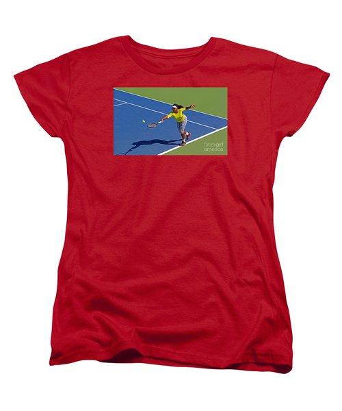 Serena Williams 1 Women's T-Shirt (Standard Cut) by Nishanth Gopinathan