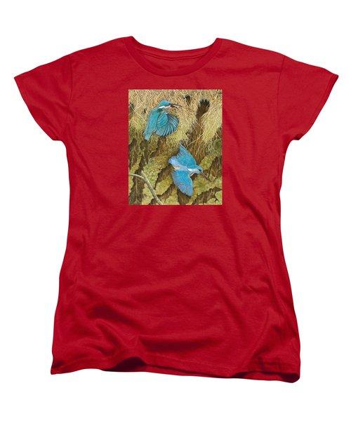 Sharing The Caring Women's T-Shirt (Standard Cut) by Pat Scott