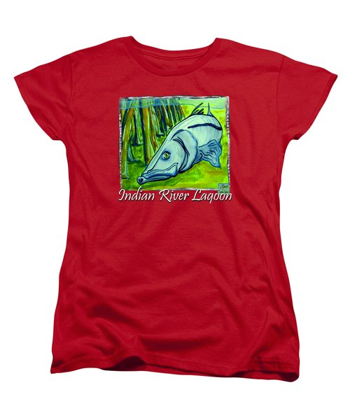 Snook Fish Women's T-Shirt (Standard Cut) by W Gilroy