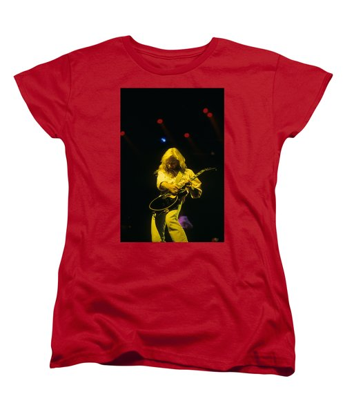 Steve Clark Women's T-Shirt (Standard Cut) by Rich Fuscia