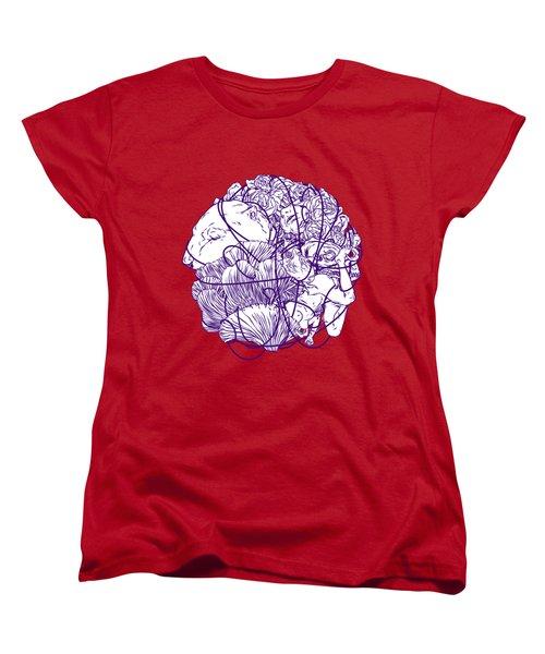 Stuff Women's T-Shirt (Standard Cut) by Evgenia Chuvardina