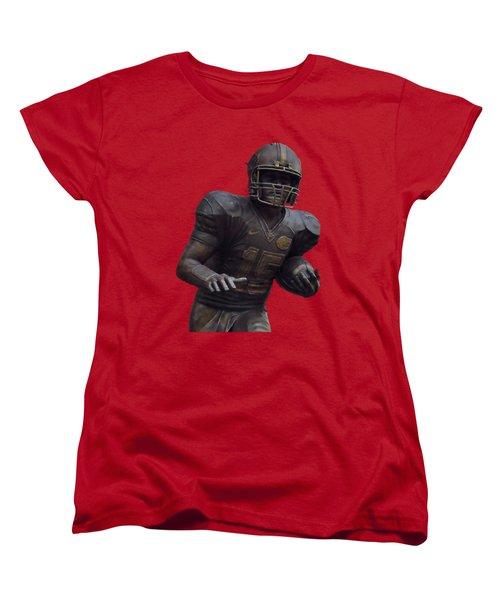 Tebow Transparent For Customization Women's T-Shirt (Standard Cut) by D Hackett