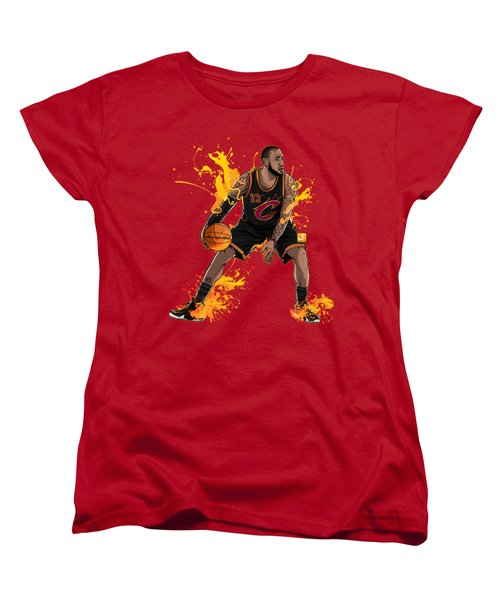 The King James Women's T-Shirt (Standard Cut) by Akyanyme