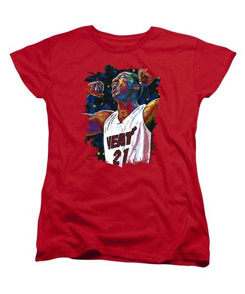 The Whiteside Flex Women's T-Shirt (Standard Cut) by Maria Arango
