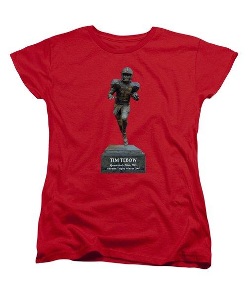Tim Tebow Transparent For Customization Women's T-Shirt (Standard Cut) by D Hackett
