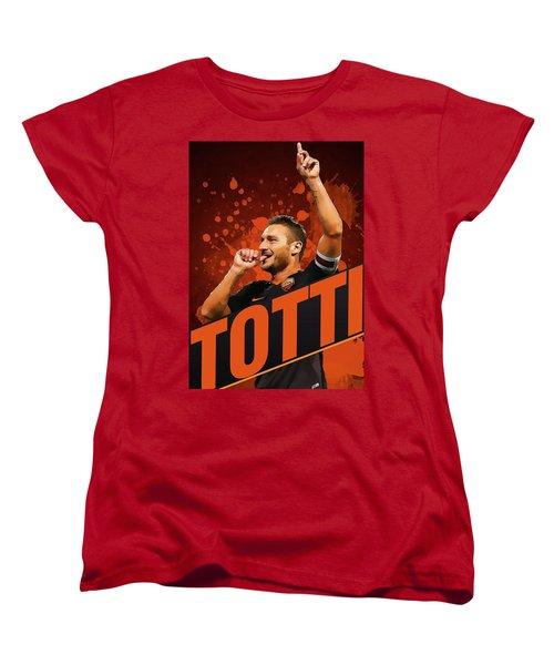 Totti Women's T-Shirt (Standard Cut) by Semih Yurdabak