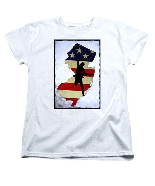 Born In New Jersey Women's T-Shirt (Standard Cut) by Bill Cannon