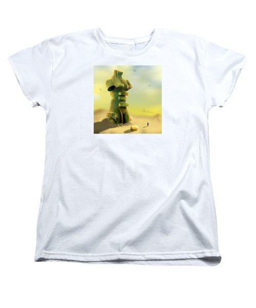 Drawers Women's T-Shirt (Standard Cut) by Mike McGlothlen