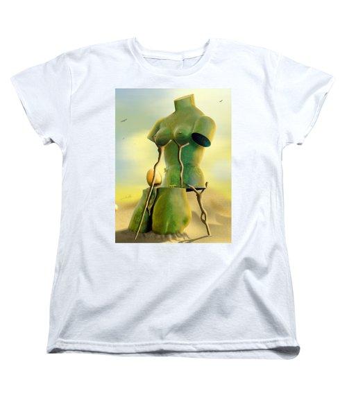 Crutches Women's T-Shirt (Standard Cut) by Mike McGlothlen