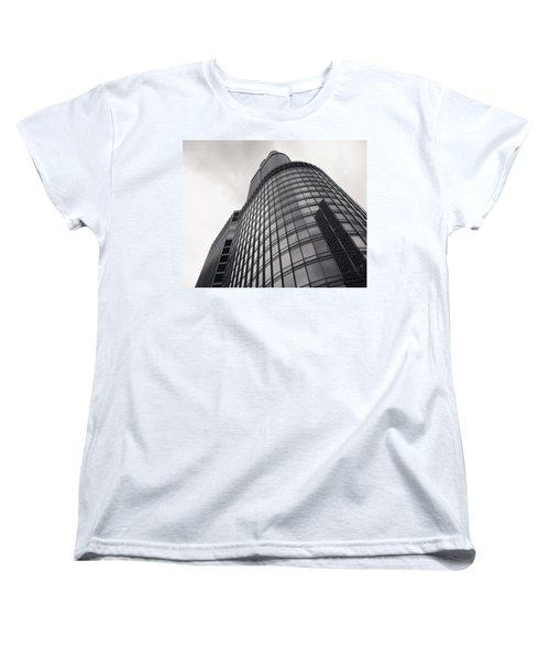 Trump Tower Chicago Women's T-Shirt (Standard Cut) by Adam Romanowicz