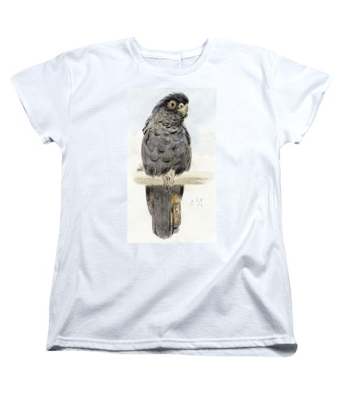 A Black Cockatoo Women's T-Shirt (Standard Cut) by Henry Stacey Marks