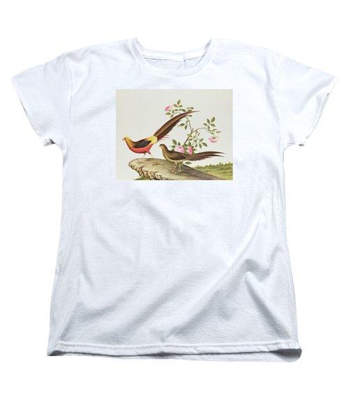 A Golden Pheasant Women's T-Shirt (Standard Cut) by Chinese School