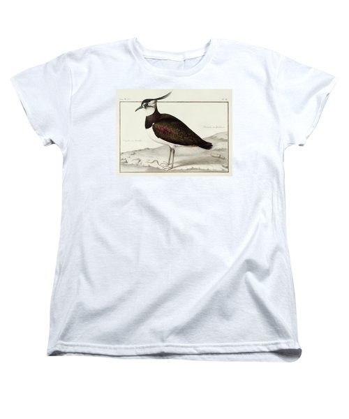 A Lapwing Women's T-Shirt (Standard Cut) by Nicolas Robert