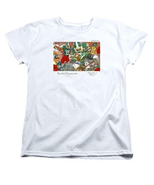 A Very Sweet Rose Women's T-Shirt (Standard Cut) by John Farr