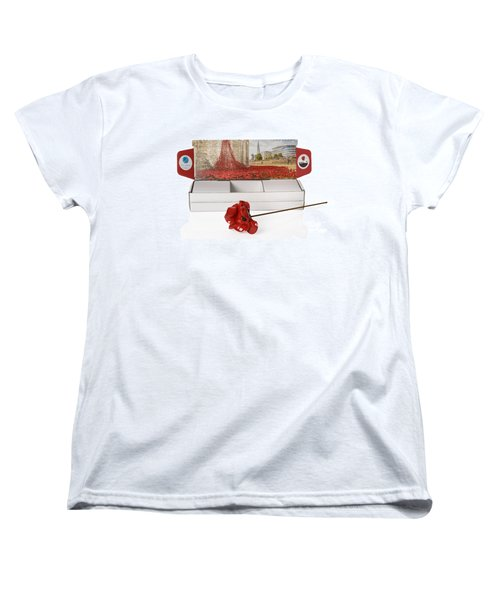 Blood Swept Lands And Seas Of Red Women's T-Shirt (Standard Cut) by Amanda Elwell