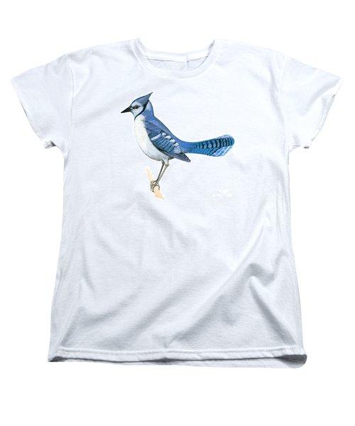 Blue Jay  Women's T-Shirt (Standard Cut) by Anonymous