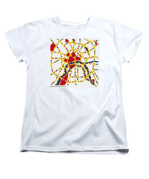 Boogie Woogie Moscow Women's T-Shirt (Standard Cut) by Chungkong Art