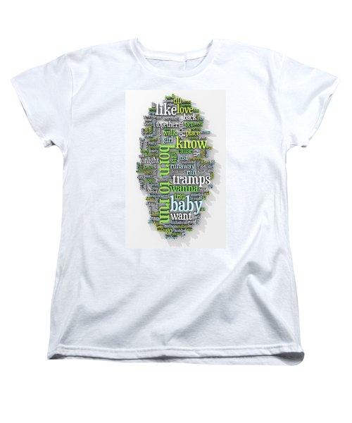 Born To Run Women's T-Shirt (Standard Cut) by Scott Norris