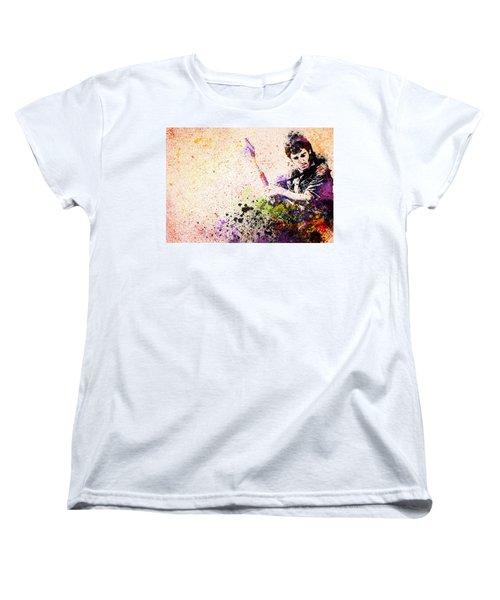 Bruce Springsteen Splats 2 Women's T-Shirt (Standard Cut) by Bekim Art