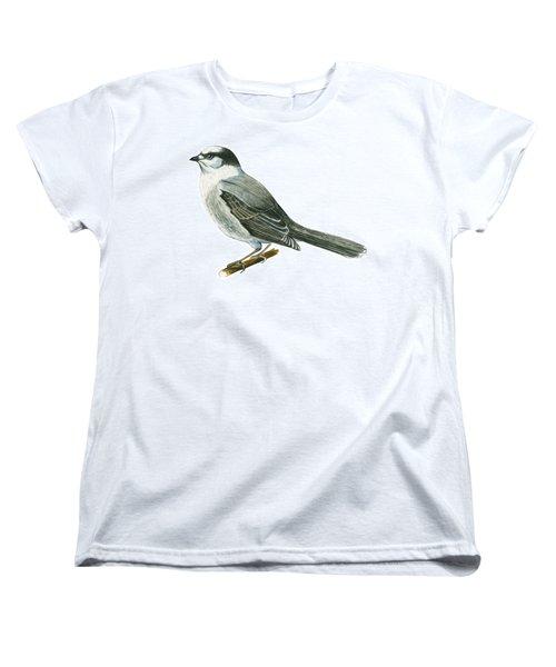 Canada Jay Women's T-Shirt (Standard Cut) by Anonymous