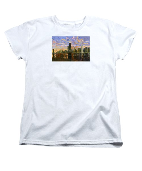 Chicago Women's T-Shirt (Standard Cut) by Mike Rabe