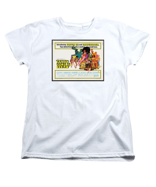Cotton Comes To Harlem Poster Women's T-Shirt (Standard Cut) by Gianfranco Weiss