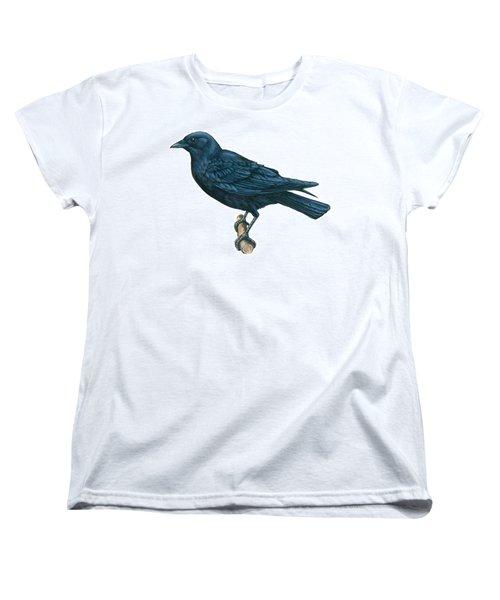 Crow Women's T-Shirt (Standard Cut) by Anonymous